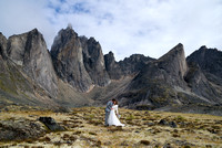 "Christian Kuntz Portrait Photographer Whitehorse Yukon wedding ""tombstone mountains"""